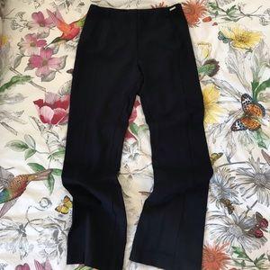 Ivanka Trump Pants - IVANKA TRUMP Navy blue, almost black trousers